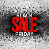 Black Friday Sale Vector Background Stock Images