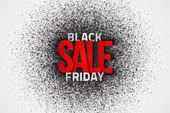 Black Friday Sale Vector Background Royalty Free Stock Image
