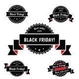 Black Friday Sale vector elements Stock Photography