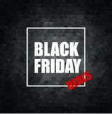 Black Friday Sale Vector Illustration Royalty Free Stock Photos