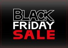 Black friday sale. Vector illustration of banner black friday sale Stock Images