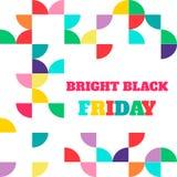 Black friday sale. Vector illustration. Clearance Stock Photos