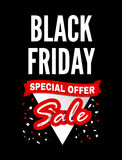 Black Friday Sale. Vector illustration stock illustration