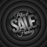 Black Friday Sale Vector Retro Background Stock Photo