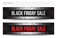 Black Friday Sale Vector Web Banner Royalty Free Stock Photos
