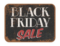 Black Friday Sale vintage sign Royalty Free Stock Photo