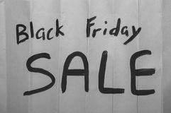 Black Friday Sale Sign Royalty Free Stock Photos