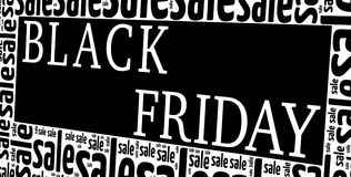 Black Friday sales concept Royalty Free Stock Image