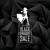 Black friday sales poster template. Special offers Stock Photo