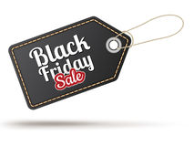 Black Friday sales tag. EPS 10 Royalty Free Stock Photo