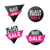 Black Friday sales tag. vector illustration Stock Photo