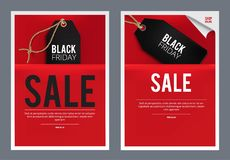 Black Friday Sales template Stock Photo