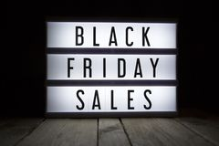 Black friday sales stock photography