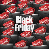 Black Friday Shopping Bag Royalty Free Stock Photos
