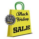 Black Friday shopping bag Royalty Free Stock Photo