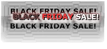 Black Friday shopping banner digital neon colored in red and white royalty free stock images