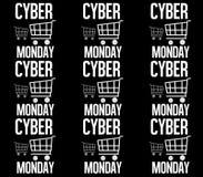 Black Friday Shopping Cart Background Texture Stock Photos