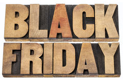 Black Friday shopping concept. Black Friday is the day following Thanksgiving Day in the United States, often regarded as the beginning of the Christmas shopping Stock Images