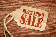 Black Friday shopping concept. Price tag sale sign Royalty Free Stock Photos