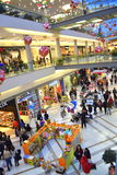 Christmas sales shopping mall Royalty Free Stock Photos