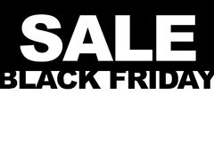 Black Friday shopping sale concept. Illustration of sale date. Stock Image