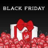 Black friday shopping season Stock Photos
