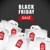 Black friday shopping season Stock Photography
