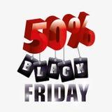 Black friday shopping Royalty Free Stock Images