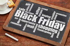 Black Friday shopping Stock Photography
