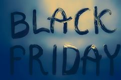 Black Friday Sign Royalty Free Stock Photos