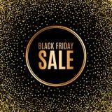 Black Friday sprzedaży projekta wpisowy szablon sztandar również zwrócić corel ilustracji wektora Ilustracja Wektor