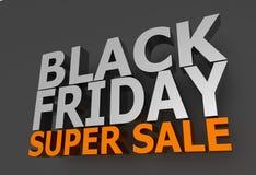 Black Friday sprzedaż Obraz Stock
