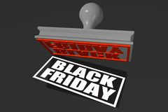 Black Friday stamp concept... Stock Photo