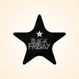 Black Friday Sticker Isolated On Background Stock Images