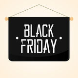 Black Friday Sticker Isolated On Background Royalty Free Stock Photo