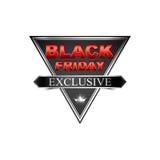 Black friday sticker5-03 Stock Photos
