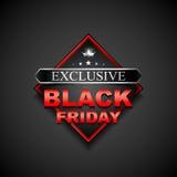 Black friday sticker2-01 Royalty Free Stock Image