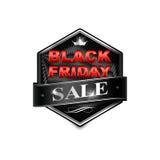 Black friday sticker5-02 Stock Photos