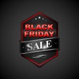 Black friday sticker4-01 Stock Photography