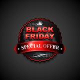 Black friday sticker1-01 Royalty Free Stock Photo