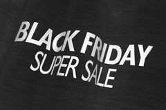 Black Friday Super Sale Royalty Free Stock Photos