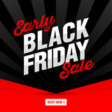Black Friday Super Sale banne Stock Photo