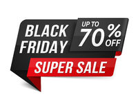 Black Friday Super Sale Royalty Free Stock Photography