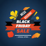 Black Friday, system of discounts for the purchase goods Stock Photo