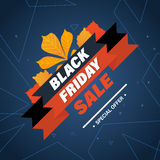 Black Friday, system of discounts for the purchase goods Royalty Free Stock Images