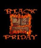 Black Friday-Tag Stock Abbildung