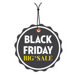 Black Friday tag royalty free stock photos