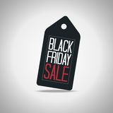 Black Friday Tag Stock Photo