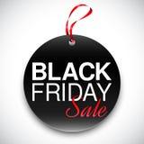 Black Friday Tag Royalty Free Stock Photo