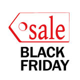 Black friday tags Stock Photography